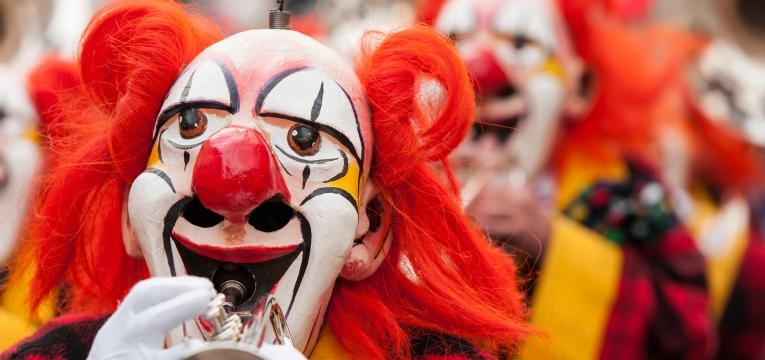 carnaval de loule palhacos