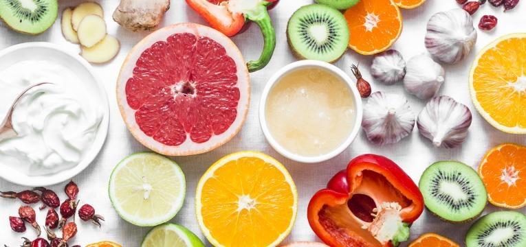 alimentos que ajudam a manter uma flora vaginal saudavel frutos e vegetais