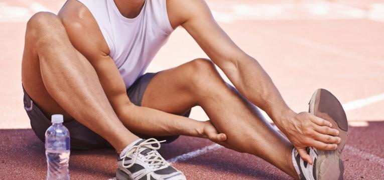 alongamento passivo estatico lesao na perna