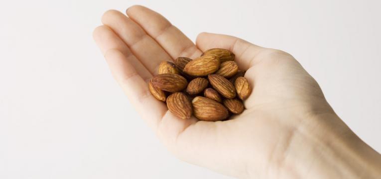 dieta dash punhado de amendoas