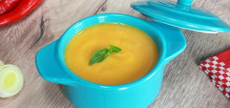 Sopa para bebés de legumes