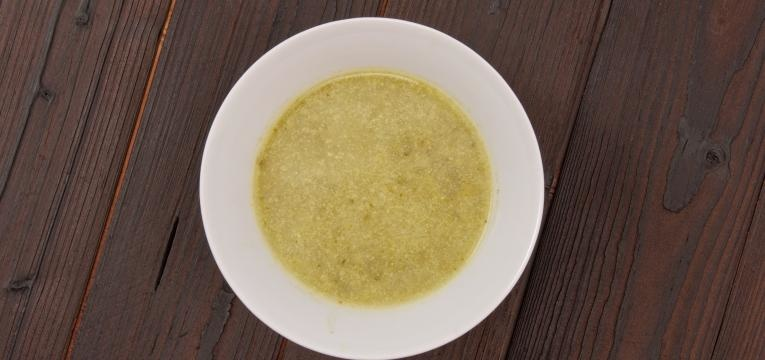 Sopa para bebes Sopa rica de pescada