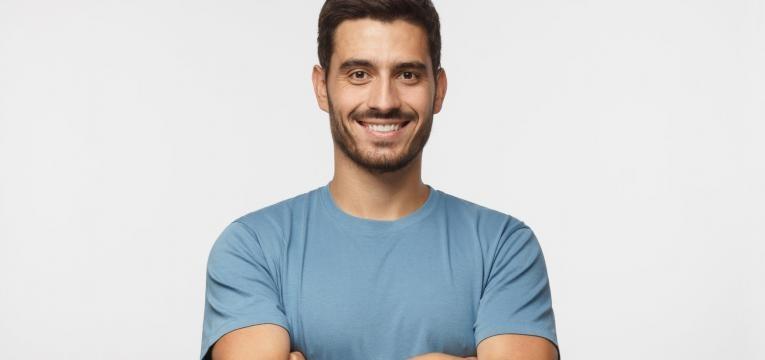 diabetes e impotencia sexual homem sorridente