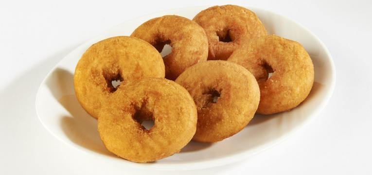 Donuts saudaveis com farinha de amendoas