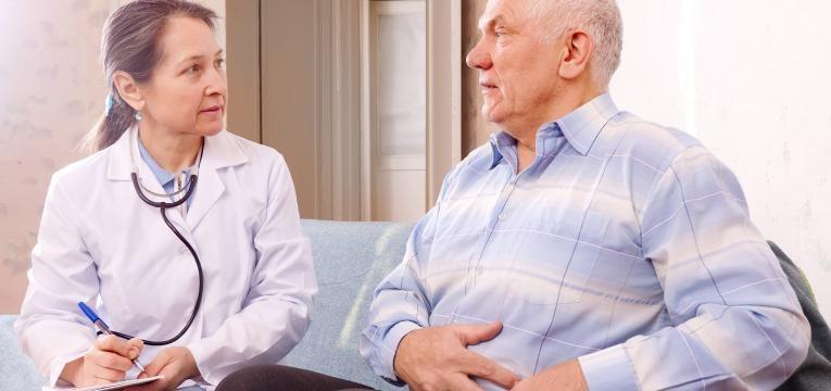 enfarte intestinal medica e paciente idoso