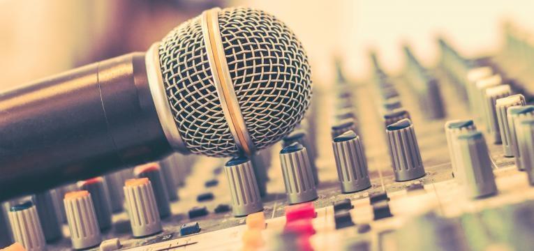 NOS Primavera Sound microfone