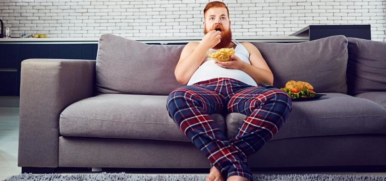queima de gordura corporal sedentarismo