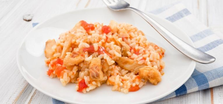 Arroz de maruca com delicias do mar