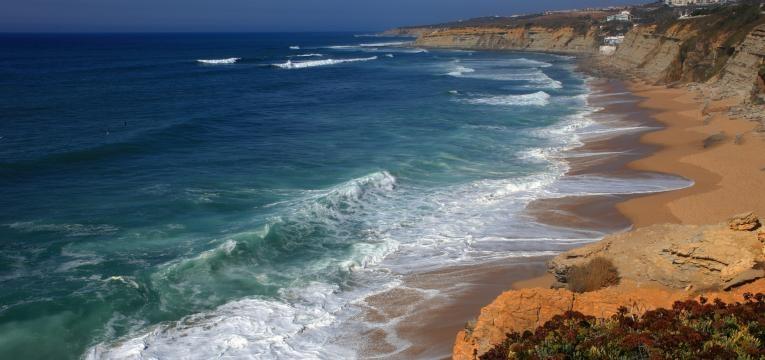 melhores praias para surfar em Portugal praia da ericeira
