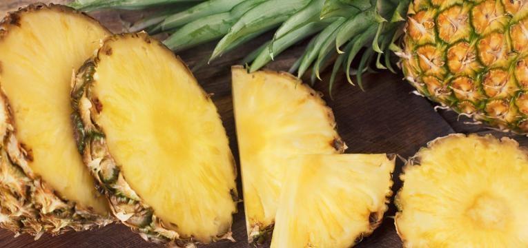 alimentos para nao sentir fome ananas