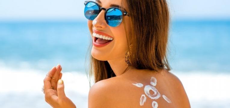 aparencia da pele protetor solar