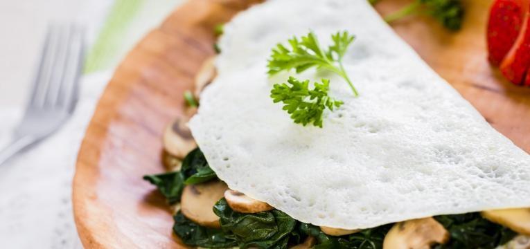 alimentos anabolicos omelete clara de ovo