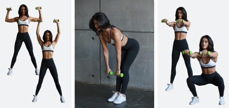 acessorios de fitness exercicios com halteres