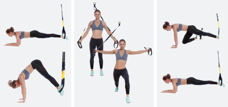 acessorios de fitness exercicios com trx