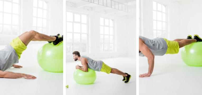 acessorios de fitness exercicios com bola