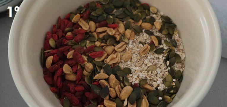 granola de coco e amendoim 1