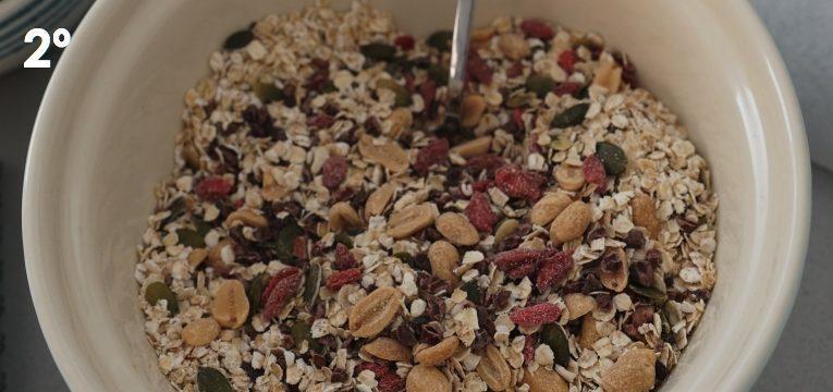 granola de coco e amendoim 2