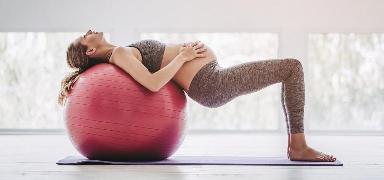 gases na gravidez gravida na bola de pilates