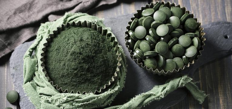consumo de algas
