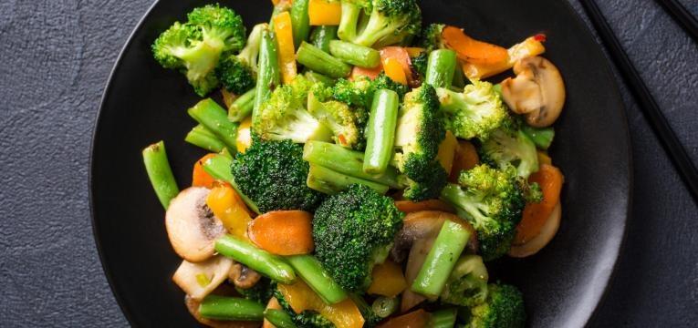 voltar a uma rotina saudavel legumes inteiros cozinhados