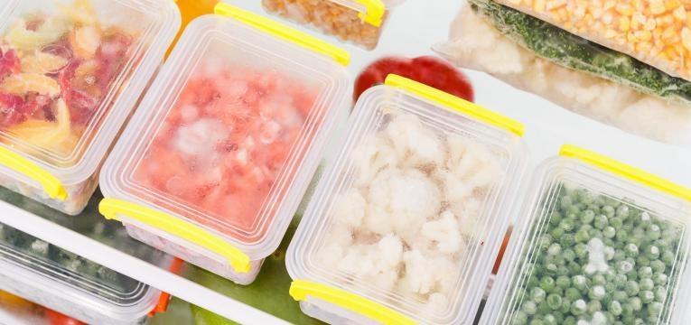 voltar a uma rotina saudavel comida congelada