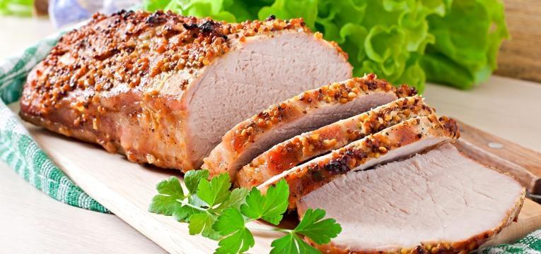 receitas para o dia da mae lombinho de porco com crosta de frutos secos