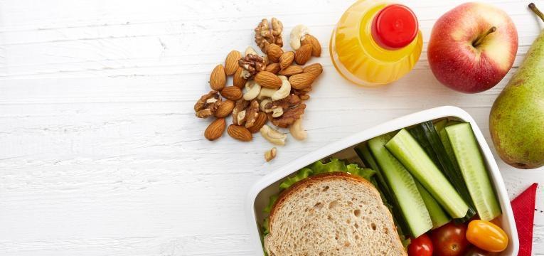 dieta para perder peso snacks