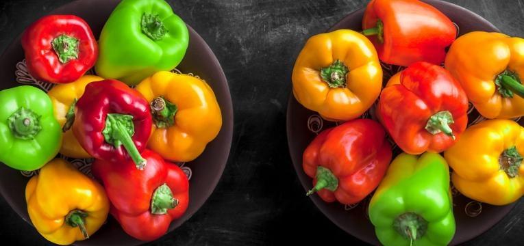 alimentos com mais vitamina C que a laranja pimento cru