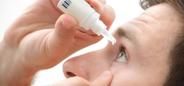 herpes ocular gotas nos olhos