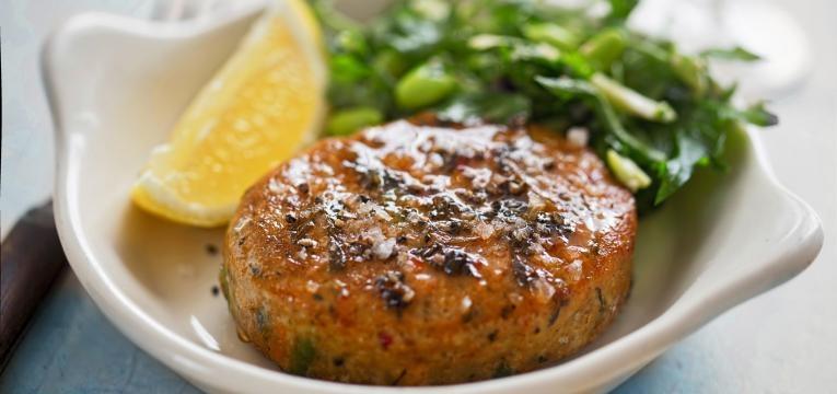 hamburguer de peixe hamburguer saudavel de sardinha