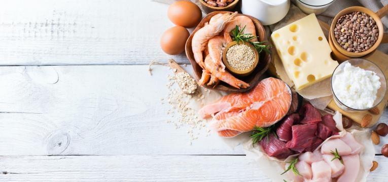 fontes de proteina salmao frango