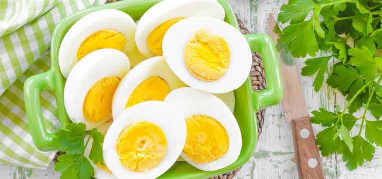 alimentos para a memoria ovo cozido