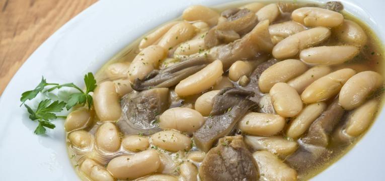 feijoada de cogumelos ementa vegetariana