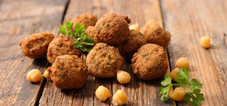 receitas vegan pratica falafel pratico