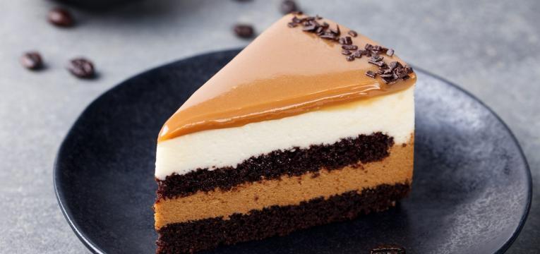 tarte de cafe com chocolate