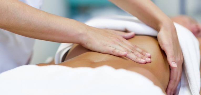 como perder gordura abdominal massagem a barriga