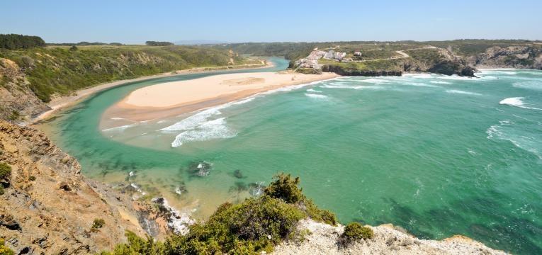 praias da Costa Vicentina praia de odeceixe