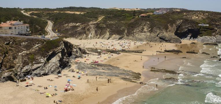 praias da Costa Vicentina praia da zambujeira do mar