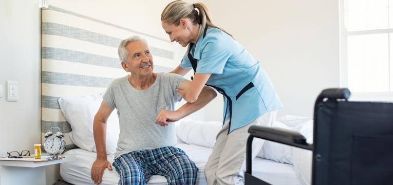 osteoporose auxiliar e paciente