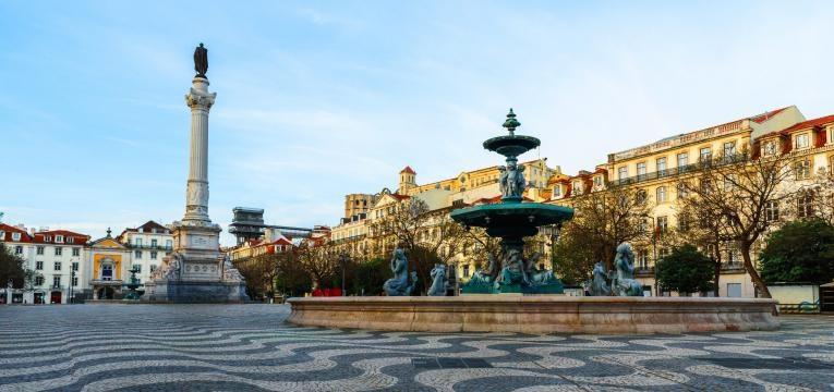 fim de semana em Lisboa rossio
