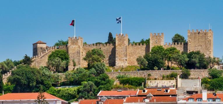 fim de semana em Lisboa castelo de sao jorge