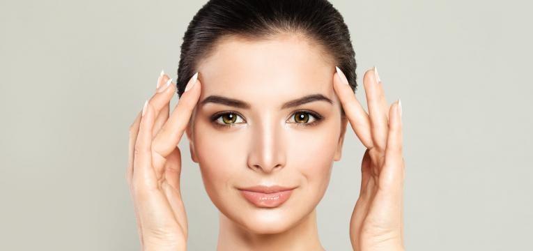 aparencia da pele massagem no rosto