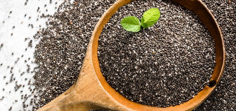 sementes na alimentacao chia