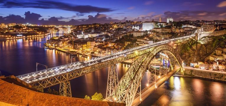 fim de semana no Porto ponte luis I
