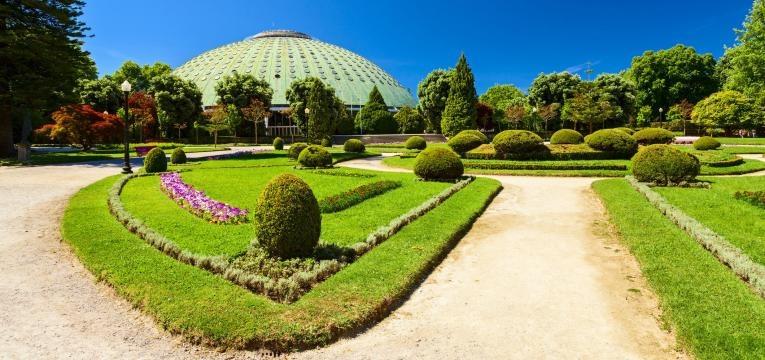fim de semana no porto jardins palacio de cristal