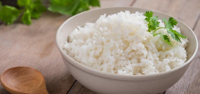 alimentos humanos que os caes podem comer arroz branco