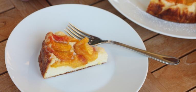 tarte de pessego com limao