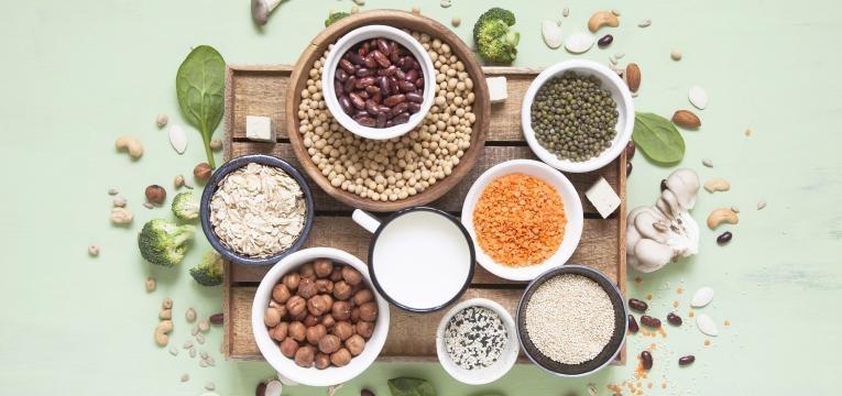 alimentos vegan ricos em proteina