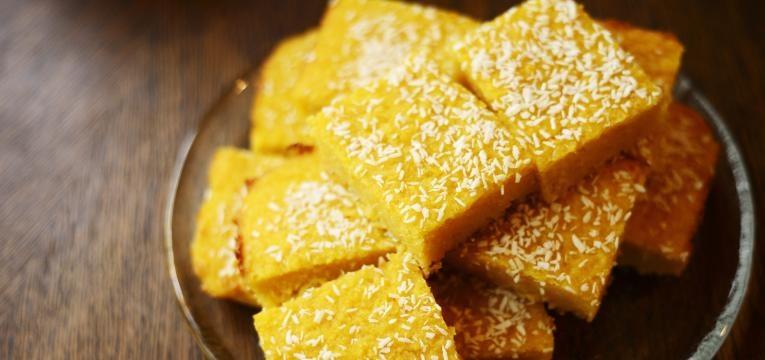 receitas com semola bolo de semola de milho