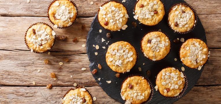 muffins de canela simples